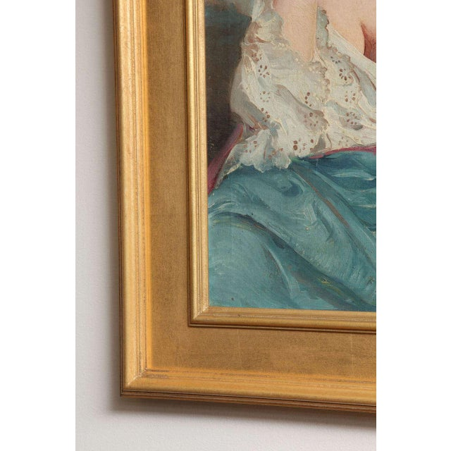 """Maria Szantho """"Woman With Tambourine"""", 1930s For Sale - Image 4 of 8"""