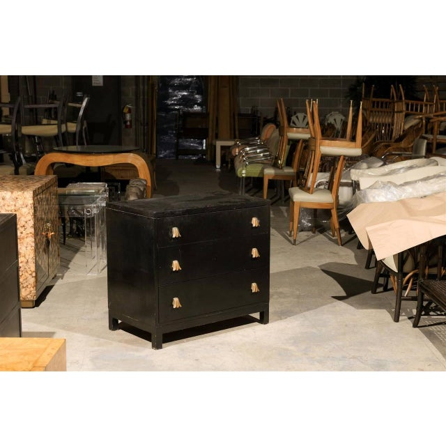 Hollywood Regency Rare Chest by Robsjohn-Gibbings for Widdicomb, Choice of Lacquer Finish For Sale - Image 3 of 10
