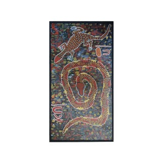 Contemporary Aboriginal Painting For Sale