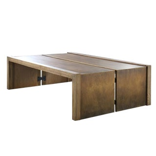 Bauhaus Mixed Material Coffee Table For Sale
