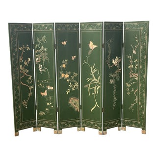 Early 20th Century Double-Sided 6 Panel Japanese Screen For Sale