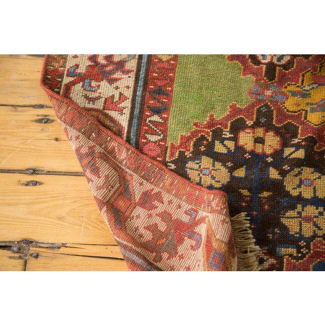 "Vintage Colorful Turkish Melas Rug - 4'6"" X 7' - Image 5 of 9"