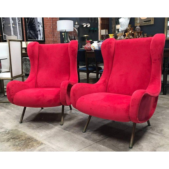 Gorgeous senior chairs that even a junior can sit in. Re-upholstery.