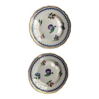 1950s Richard Ginori Mini Butter Pat Dishes - a Pair For Sale