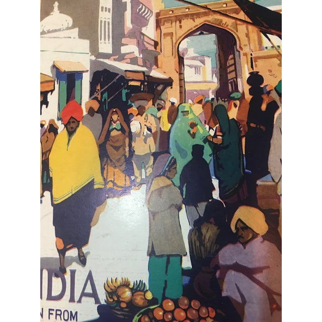 1935 'See India' Lahore Scene Ad For Sale - Image 10 of 11