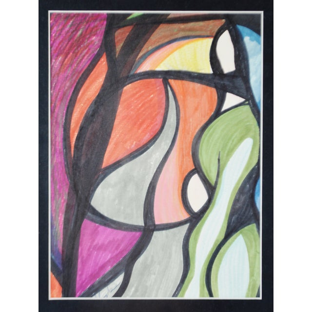 Abstract Abstract Pat Gallagher Signed Original Artwork For Sale - Image 3 of 9