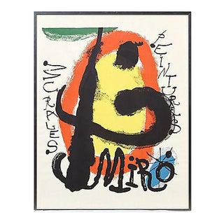 1960s Joan Miró Poster