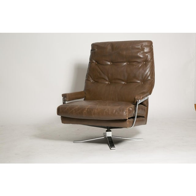 Arne Norell Leather Club Chairs - Set of 2 For Sale - Image 7 of 9