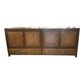 Mid-Century Baker Furniture Modern Asian Storage Cabinet For Sale