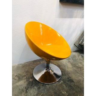 Yellow Mid Century Modern Vintage Egg Chair Preview