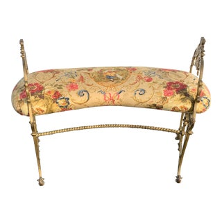 Early 20th Century French Boudoir Bench For Sale