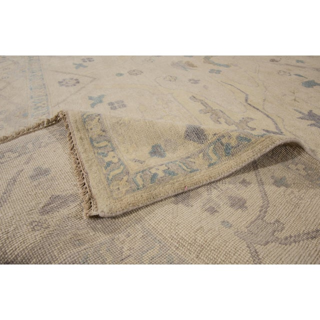 """Contemporary Turkish Oushak Modern Rug - 10' X 13'5"""" For Sale - Image 3 of 5"""