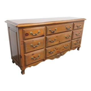 Ethan Allen Pine Country French Dresser For Sale
