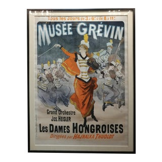 """""""Musee Grevin"""" Original French Poster"""