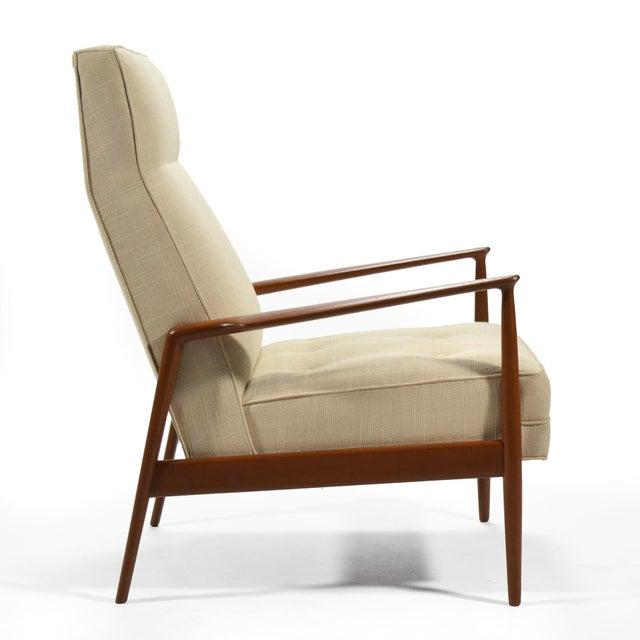 Teak Ib Kofod-Larsen Highback Lounge Chair For Sale - Image 7 of 9
