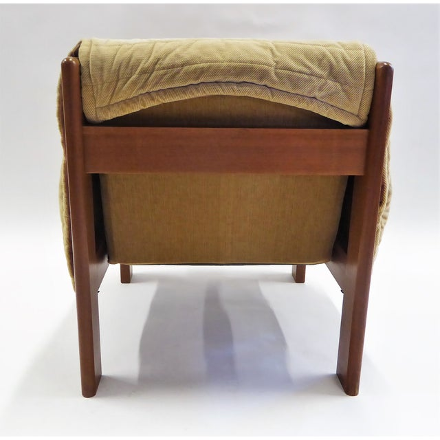 1970s 1970s Domino Mobler Danish Modern Solid Teak Lounge Chair For Sale - Image 5 of 13