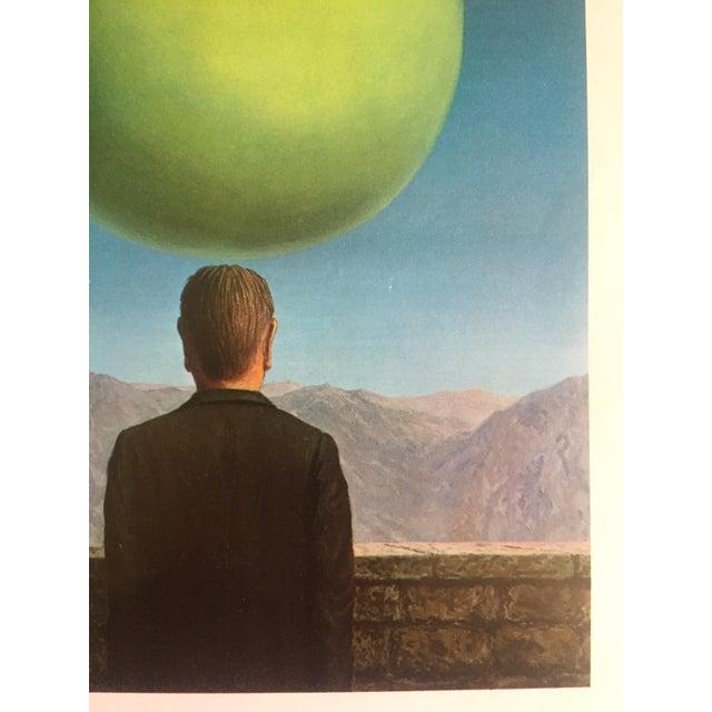 """Rene Magritte Vintage 1972 Surrealist Lithograph Print """" La Carte Postale """" 1960   Chairish"""