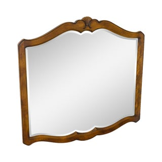 Ethan Allen Country French Beveled Wall Mirror For Sale