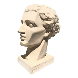 Mid 20th Century Vintage Caproni Brothers Plaster Sculpture For Sale