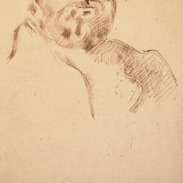 1959 Paul Cézanne Self-Portrait, Large Hungarian Photogravure For Sale - Image 4 of 8