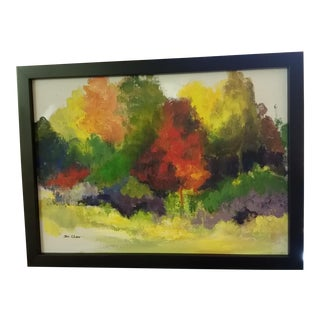 Vintage Helen St. Clair Oil Painting