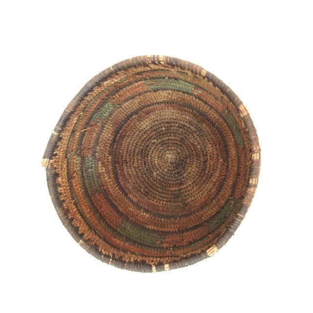 Native American Hand Woven Basket - Image 6 of 7