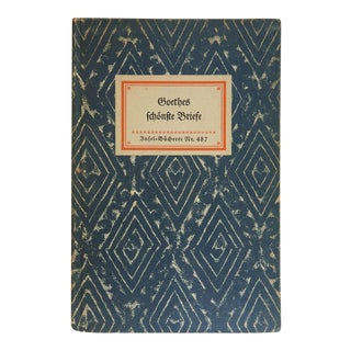 Goethes Letters Book For Sale