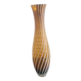 1985 Italian Glass Art Vase For Sale