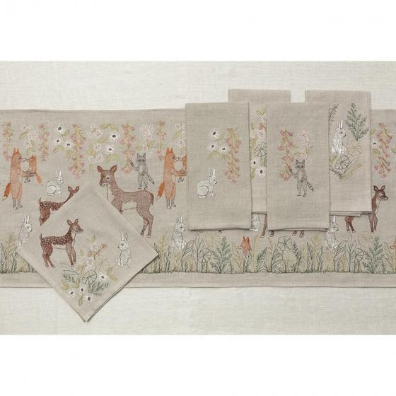 Meadow Blossoms Tea Towel For Sale - Image 4 of 5