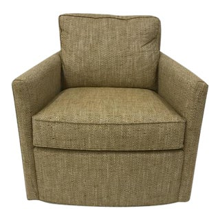 Century Furniture Willis Swivel Chair For Sale