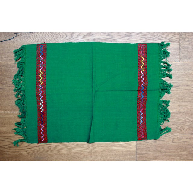 Traditional Hand-Woven Chiapas Placemats - Pair For Sale - Image 3 of 7