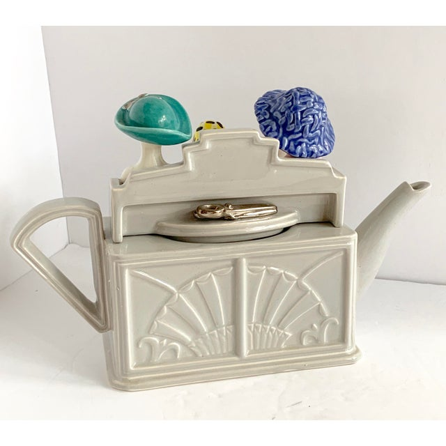 Vintage Richard Parrington Novelty Teapot Mode De Paris For Sale In Miami - Image 6 of 13