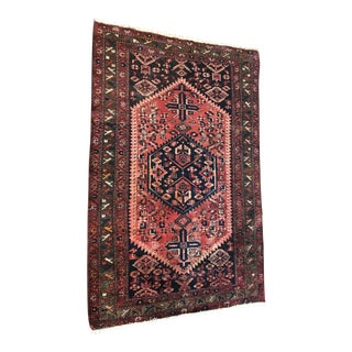 Antique Persian Rug - 4″ × 7″