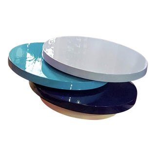 Contemporary Jonathan Adler Polly Lacquer Cocktail Table
