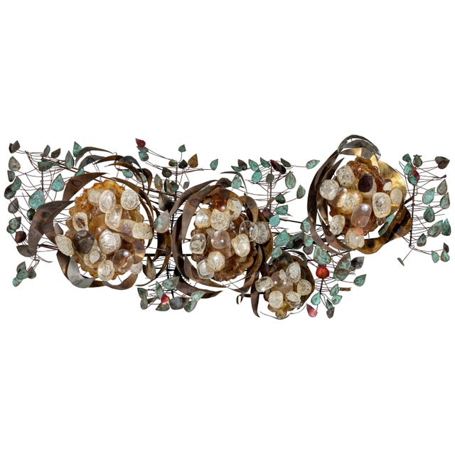 Contemporary Recycled Glass Wall Light For Sale - Image 9 of 9
