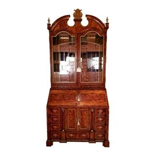 Traditional Althrop Theodore Alexander Secretary/Bookcase/ Cabinet For Sale
