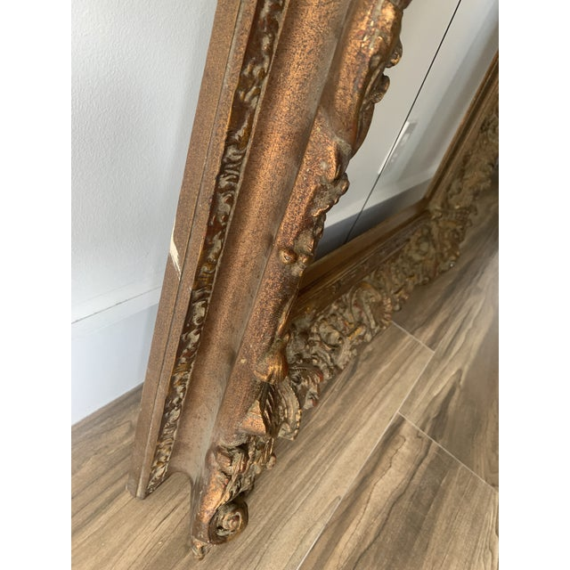 Baroque Ornate Gilt Wood Frame For Sale In Miami - Image 6 of 11