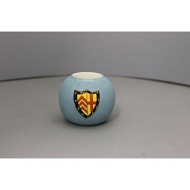 Carlton Ware 1920s Clare Hall College Match Striker For Sale - Image 4 of 4