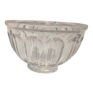 Orrefors San Michele Crystal Bowl For Sale