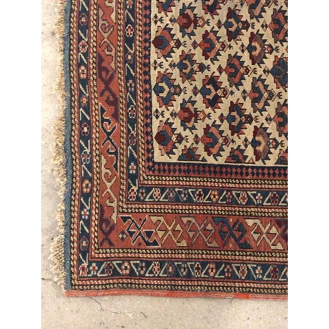 Antique Caucasian Rug For Sale - Image 4 of 7