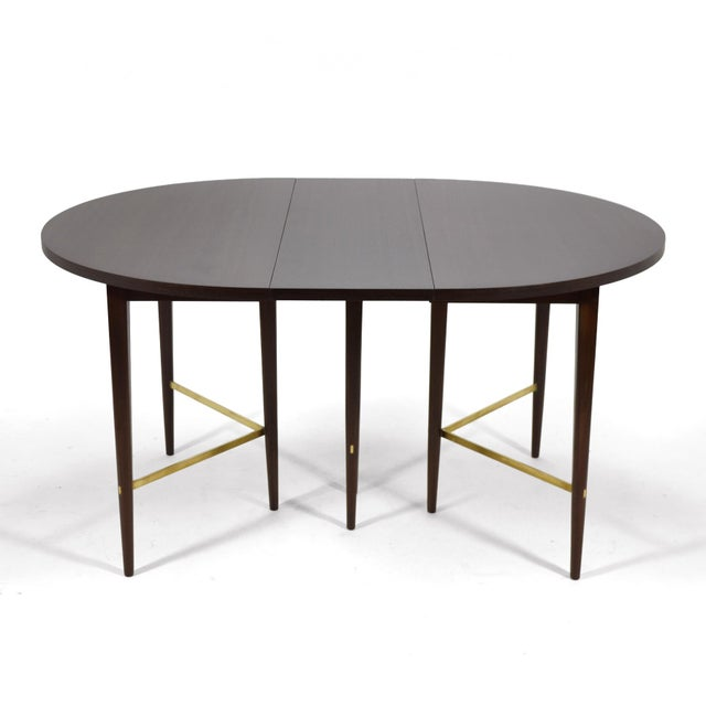 Paul McCobb Extension Dining Table by Calvin For Sale - Image 10 of 11