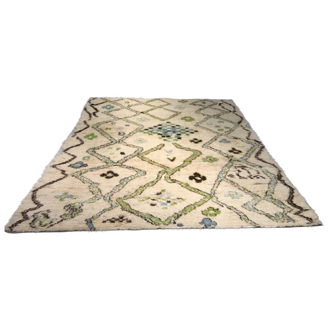 """Bellwether Rugs Azilal Moroccan Shag Rug - 7'9"""" X 10'7"""" - Image 1 of 10"""