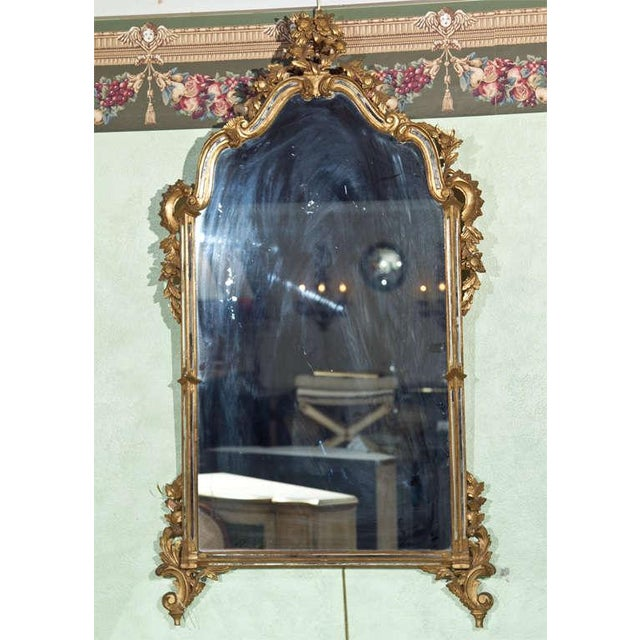 French Rococo-Style Giltwood Mirror - Image 3 of 5