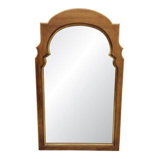 Hollywood Regency Gold Trim Wooden Mirror