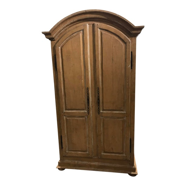 Guy Chaddock Wood Entertainment Cabinet For Sale