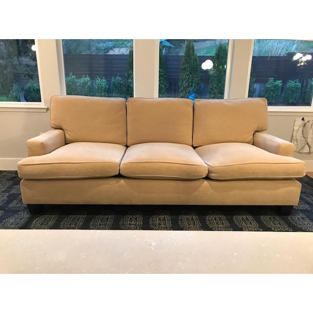 Textile Barbara Barry for Baker Furniture Sofa For Sale - Image 7 of 7