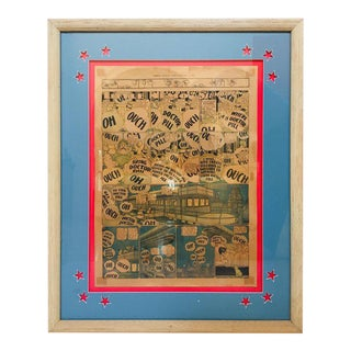 """Little Nemo"" Framed Artwork by American Cartoonist Winsor McCay January 2 1910 For Sale"