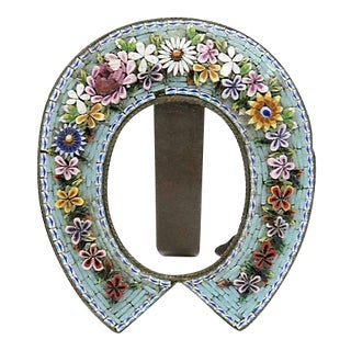 Antique Micro-Mosaic Picture Frame