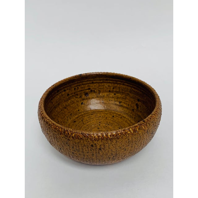 George Scatchard Mid Century Modern Studio Pottery Bowl For Sale - Image 4 of 10
