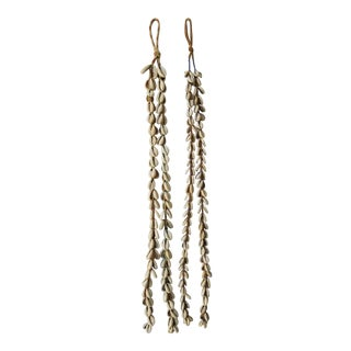 Seashell Tassels - a Pair For Sale